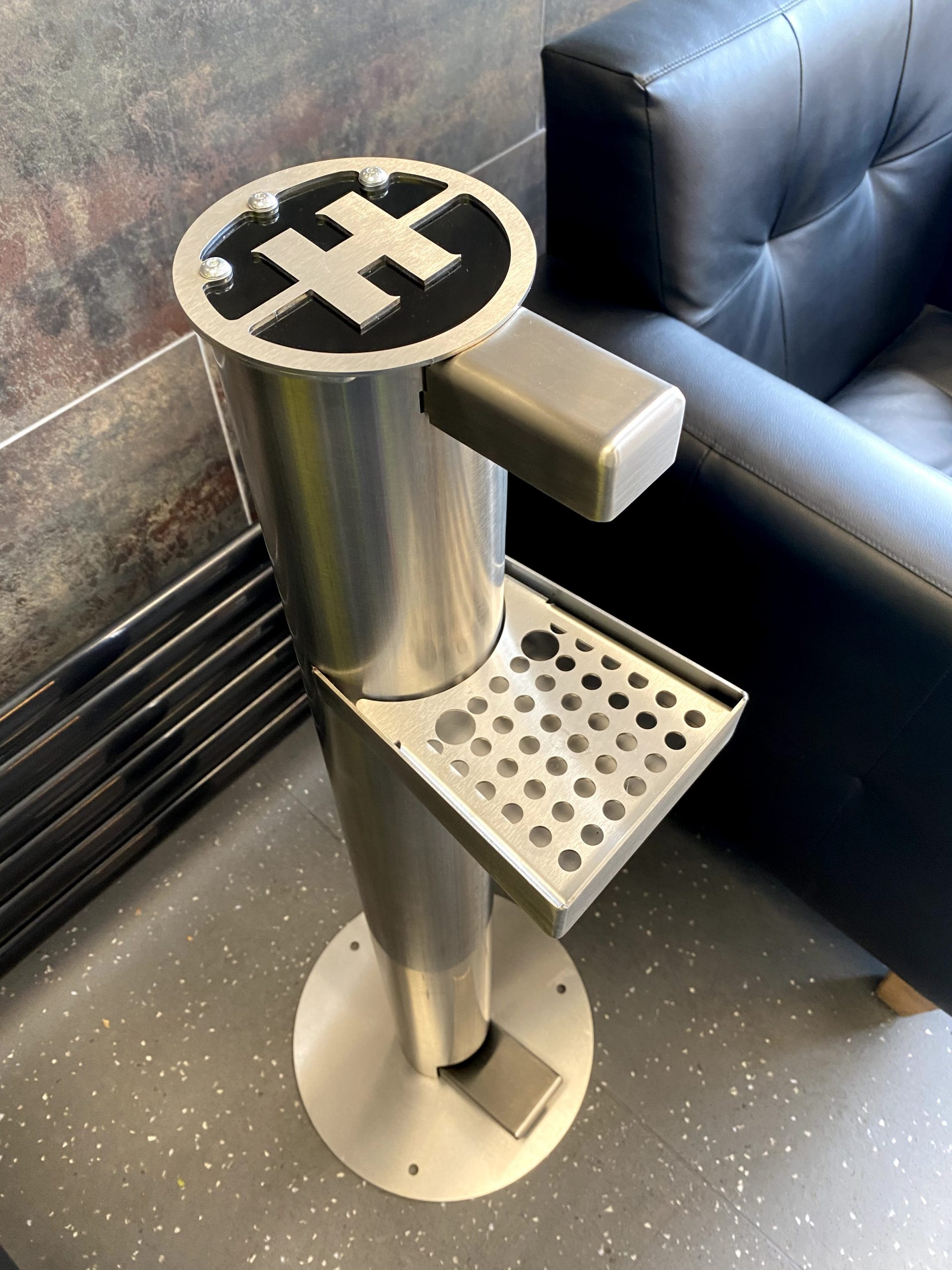 H360 Products hand sanitiser dispenser