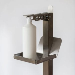H360 Products hand sanitiser stand