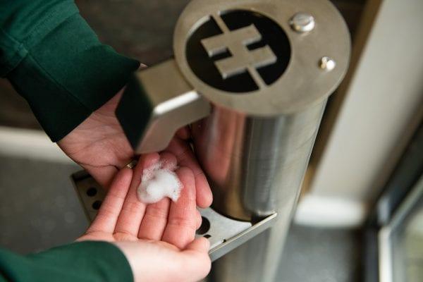 H360 Products Hand Sanitiser Dispenser Stands