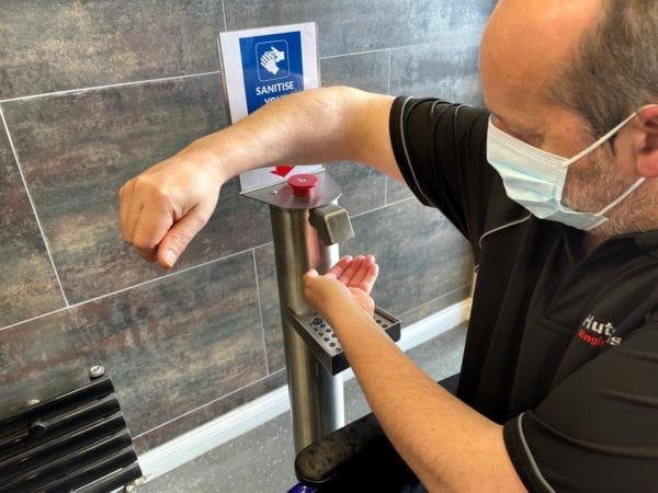 H360 Products Hand Sanitiser Accessible